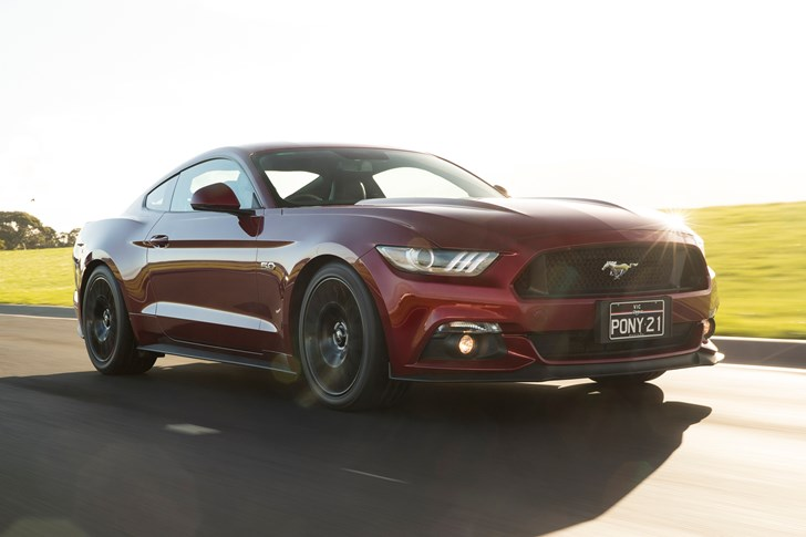 Ford Mustang Performance Pack Australia
