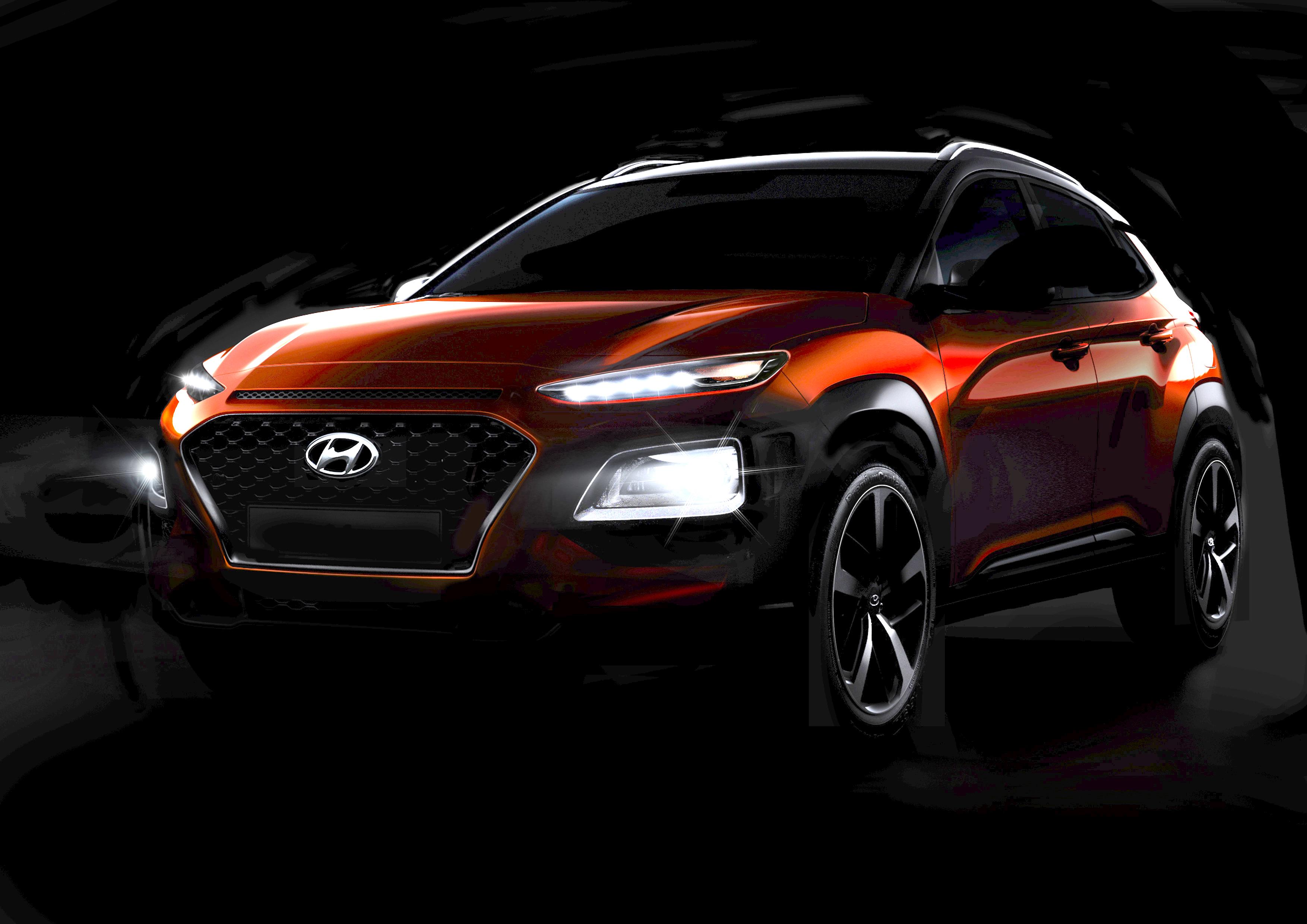News Hyundai Reveals Kona Crossover Less Teasingly