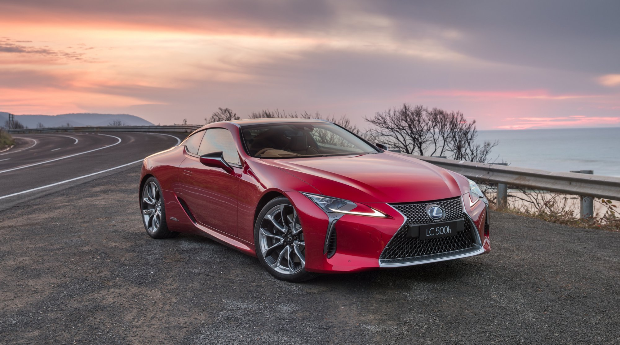 News 2017 Lexus Lc500 Lc500h Make Oz Landfall