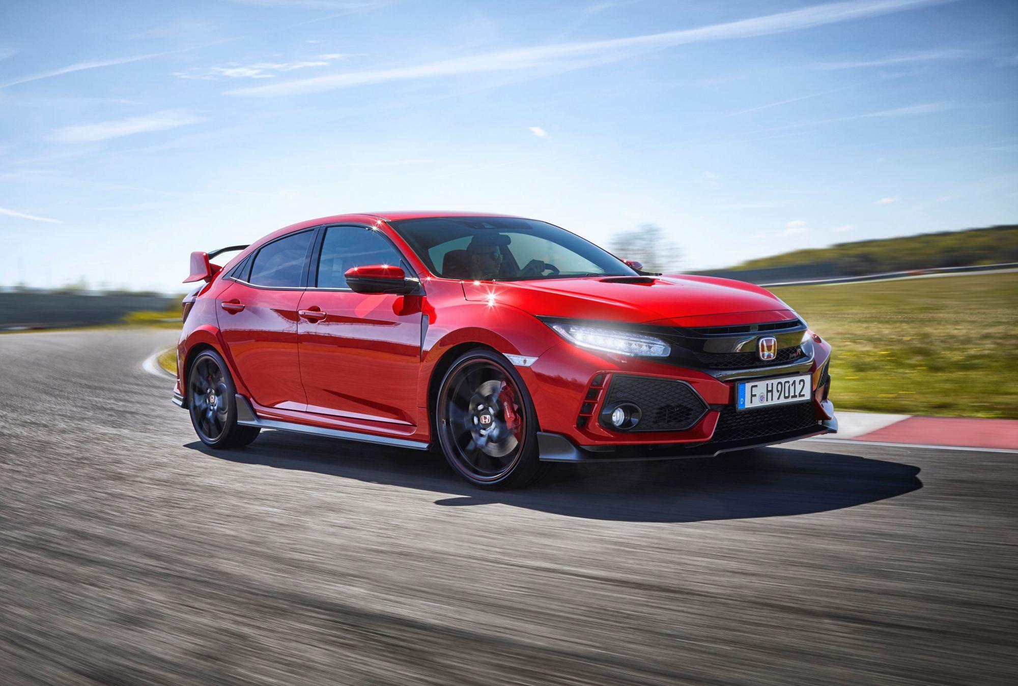 News honda reveals new civic type r 0 100km h sprint time for Honda civic new