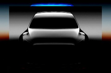 Tesla Teases Model Y At Annual Meeting