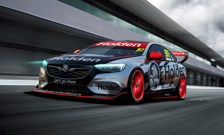 2018 Holden Commodore Supercars Concept
