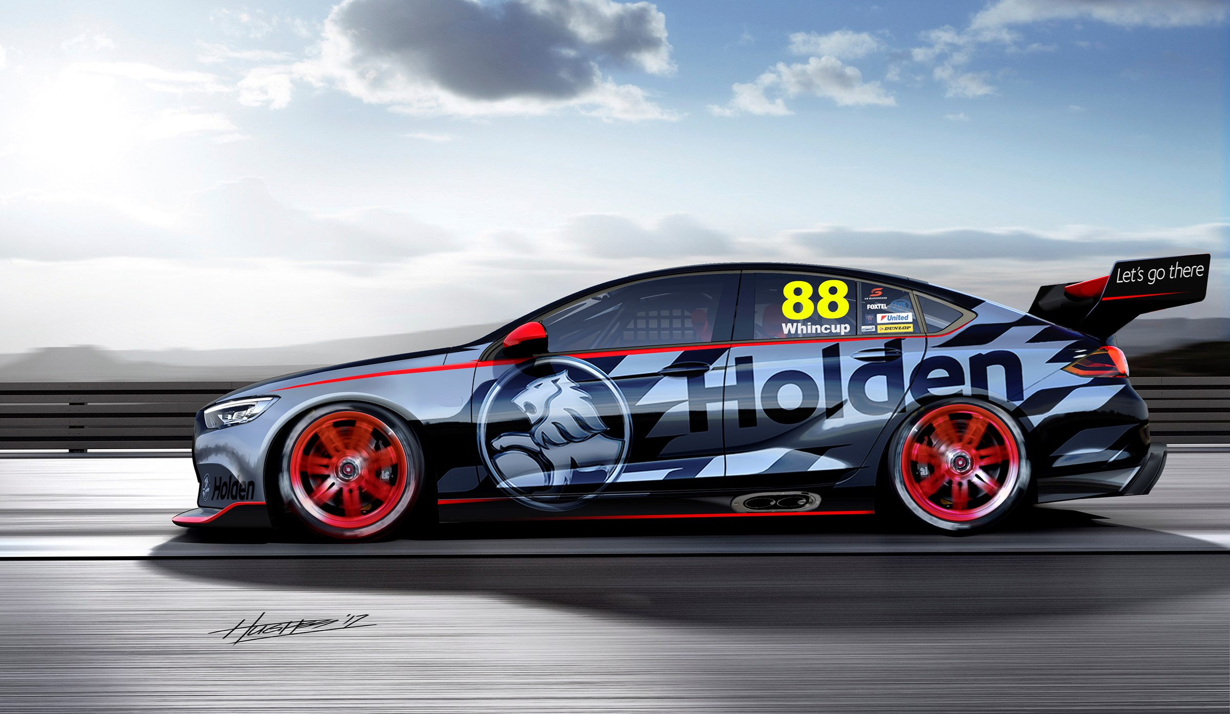 Peek At 2018 Holden Commodore As Supercars Racer Thumbnail