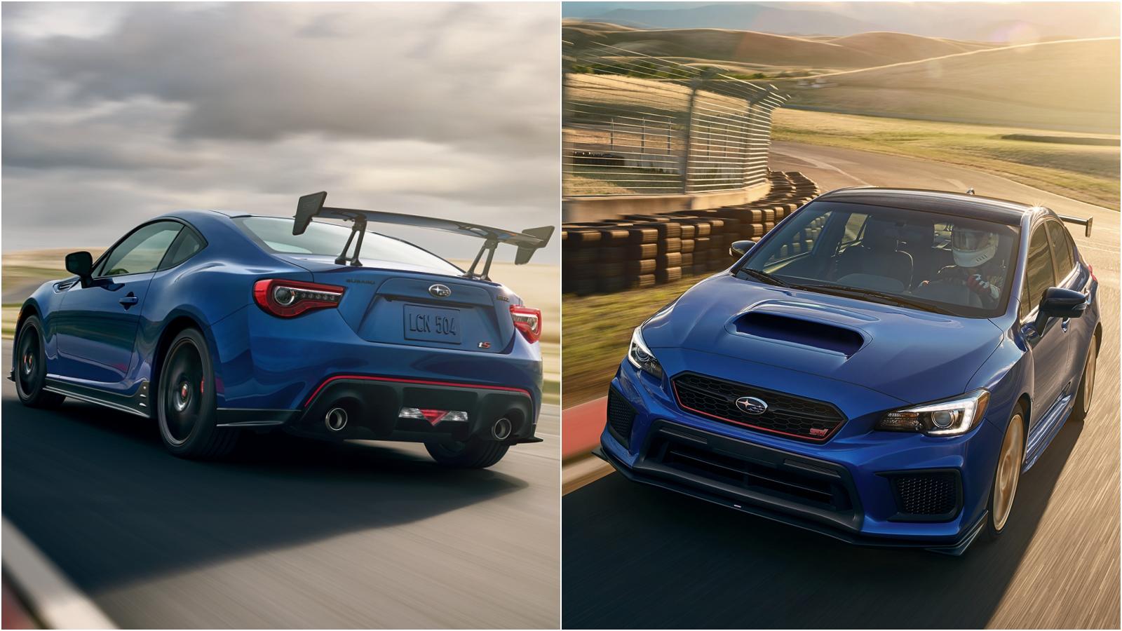 Sti Type Ra >> News - Subaru Of America Reveals BRZ tS, WRX STI Type RA