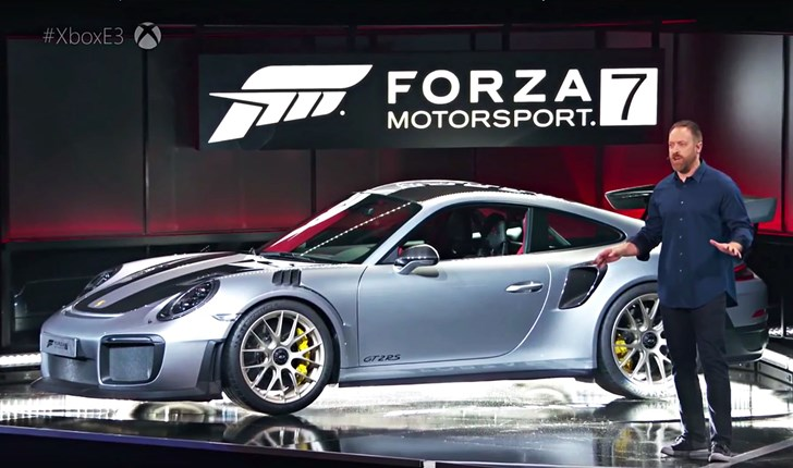 2018 Porsche 911 GT2 RS - Microsoft E3
