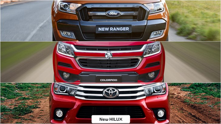 2017 Shootout: Holden Colorado VS Toyota HiLux VS Ford Ranger