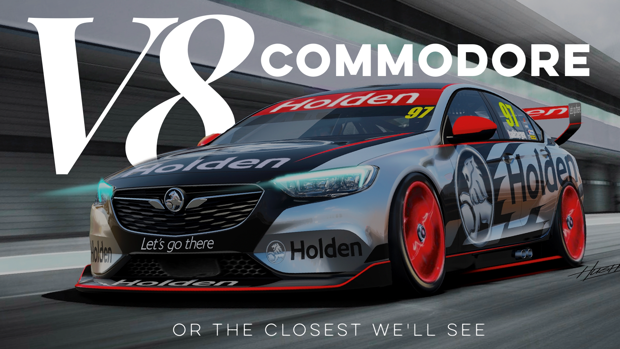 Peek At 2018 Holden Commodore As Supercars Racer