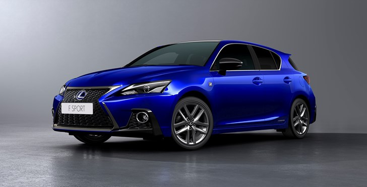 Lexus Freshens Up CT200h For 2018