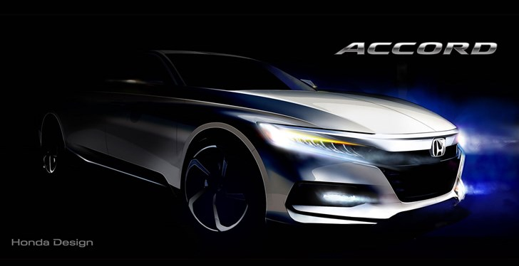 Honda Teases 2018 Accord, Unveiling Mid-July