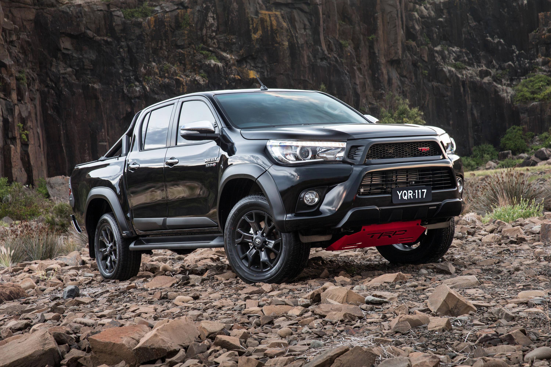 Final Days For Petrol V6 Toyota HiLux
