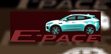 2018 Jaguar E-Pace Teased Again