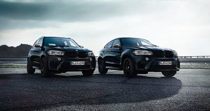 BMW X5M, X6M Black Fire Editions