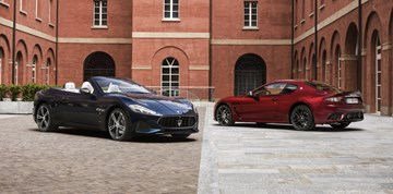 2018 Maserati GranTurismo & GranCabrio Debut At Goodwood