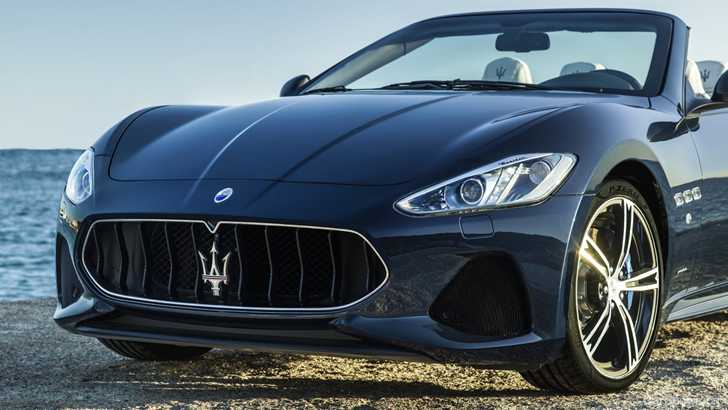 news 2018 maserati granturismo grancabrio debut at goodwood. Black Bedroom Furniture Sets. Home Design Ideas