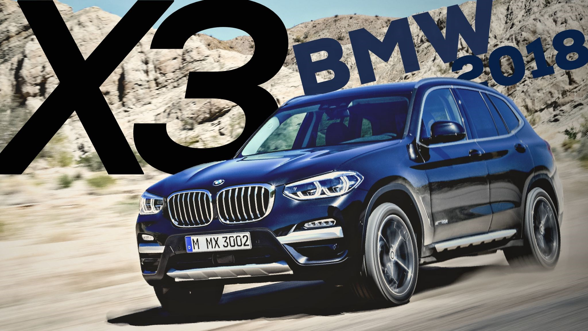 BMW Unveils All-New X3 Midsize SUV