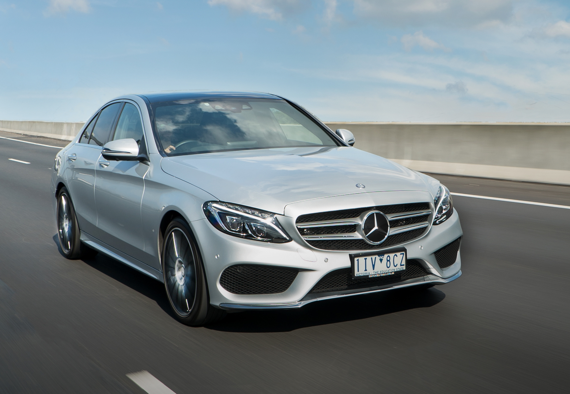 News mercedes benz c class updated for 2017 model year for Mercedes benz c 2017