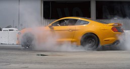 Ford Mustang EcoBoost Now Has Electronic Burnout Feature