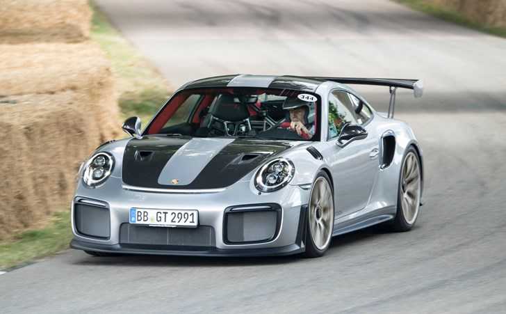 Porsche 911 GT2 RS Gets Full Reveal At Goodwood