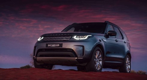 2018 Land Rover Discovery, Landing 1st August