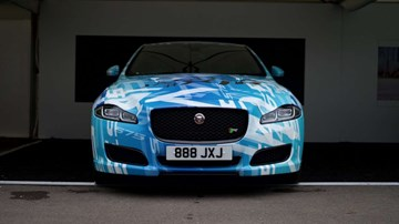 Jaguar Teases 2018 XJR At Goodwood, Now With 423kW