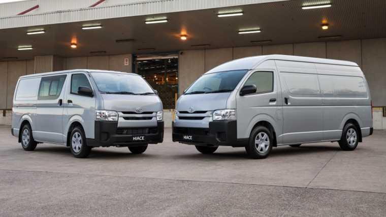37c3c95bb8 Toyota Hiace - latest prices