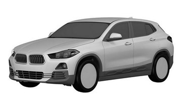 2018 BMW X2 Leaked In Patent Images