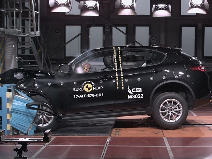 Alfa Romeo Stelvio Gets 5-Star Euro NCAP Rating