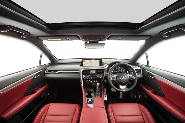 2017 Lexus RX350 F-Sport