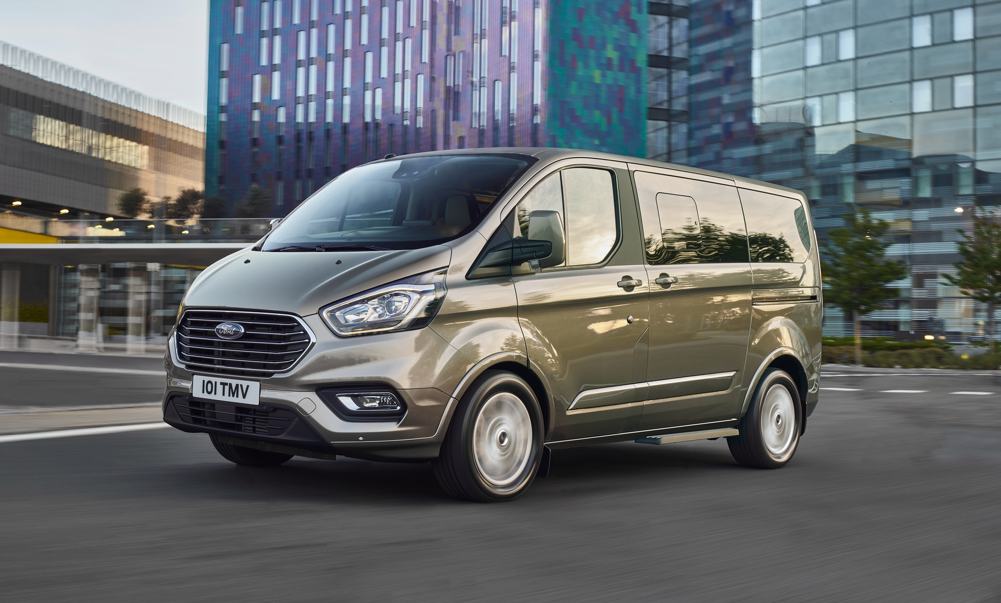 news facelifted ford tourneo heralds transit update. Black Bedroom Furniture Sets. Home Design Ideas