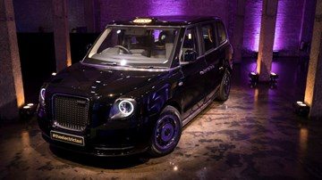 New London Cab Unveiled, Company Renamed