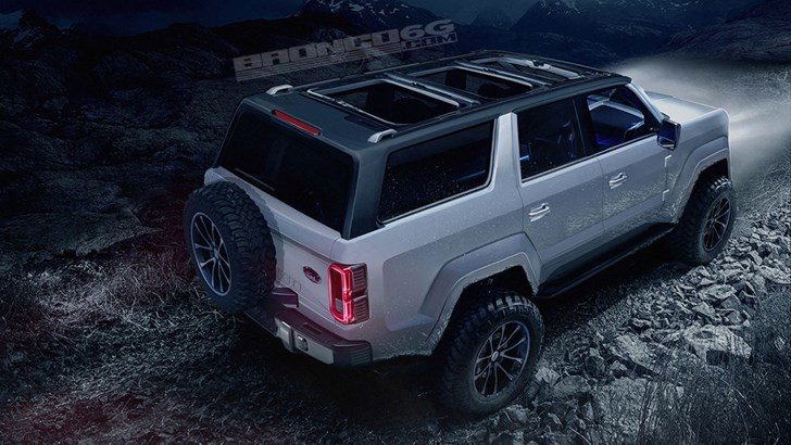2020 Ford Bronco Rendered, Looks Brilliant