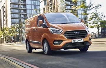 2018 Ford Transit Custom - Europe