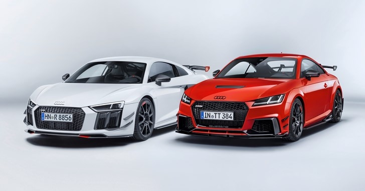 Audi Sport Adds Performance Parts For R8 & TT