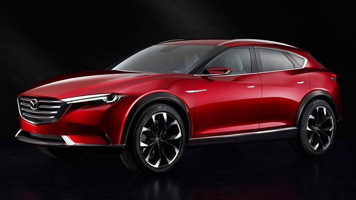 Mazda's Swoopy CX-8 Could Make It Here