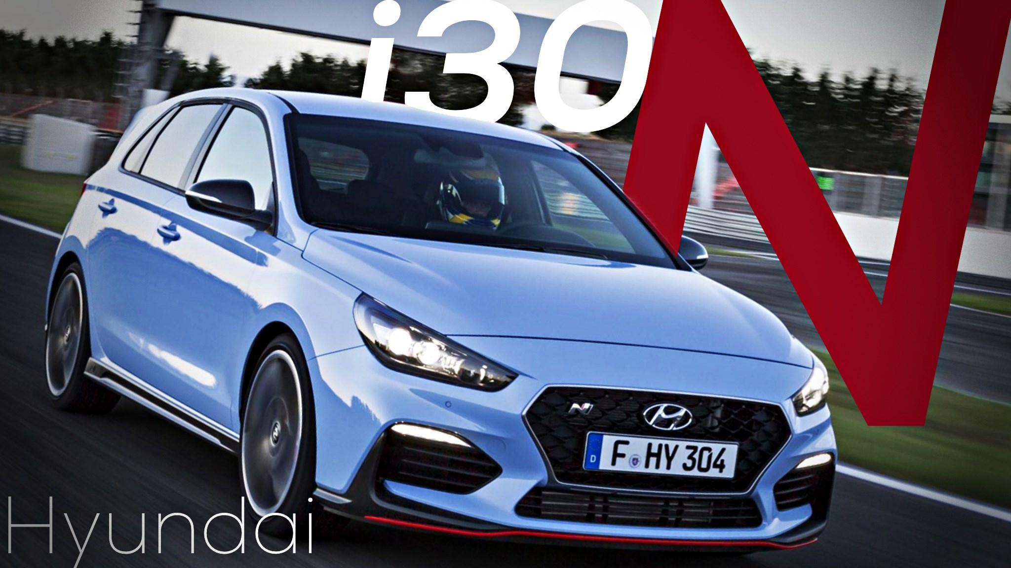 Hyundai Reveals The i30 N, Their First Real Hot Hatch