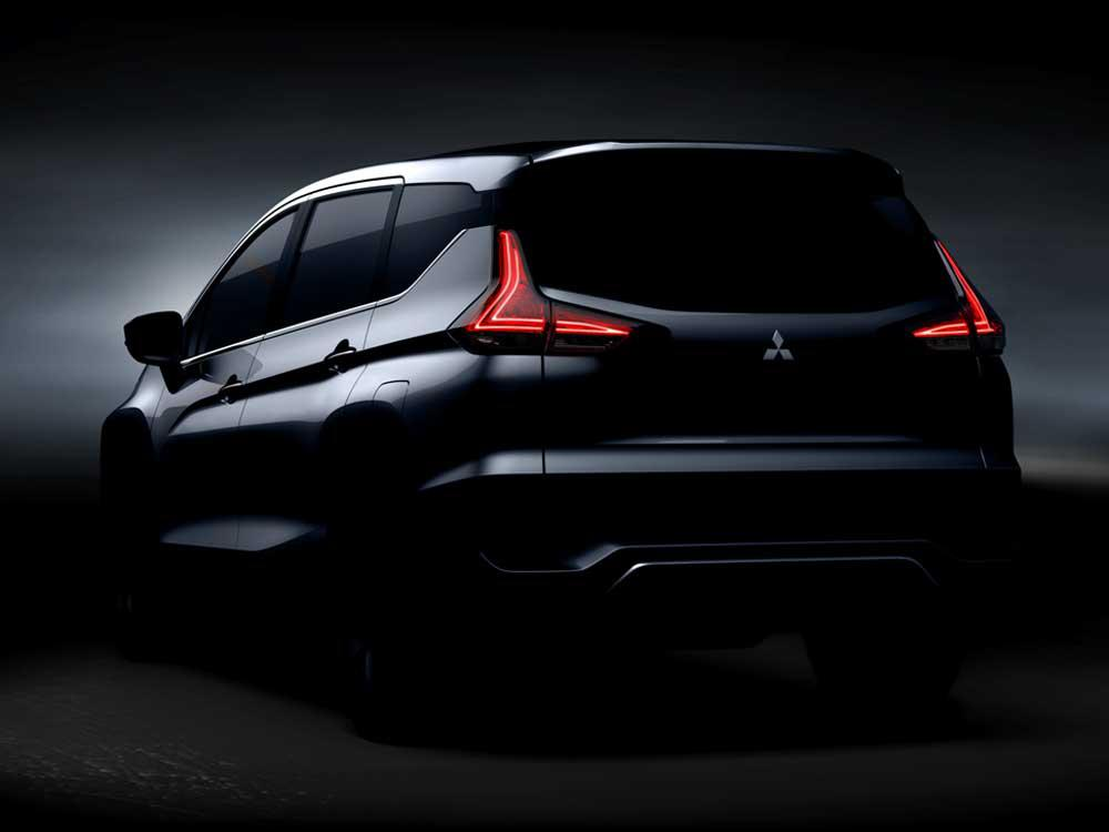 News Mitsubishi Teases Expander All New 7 Seat Mpv