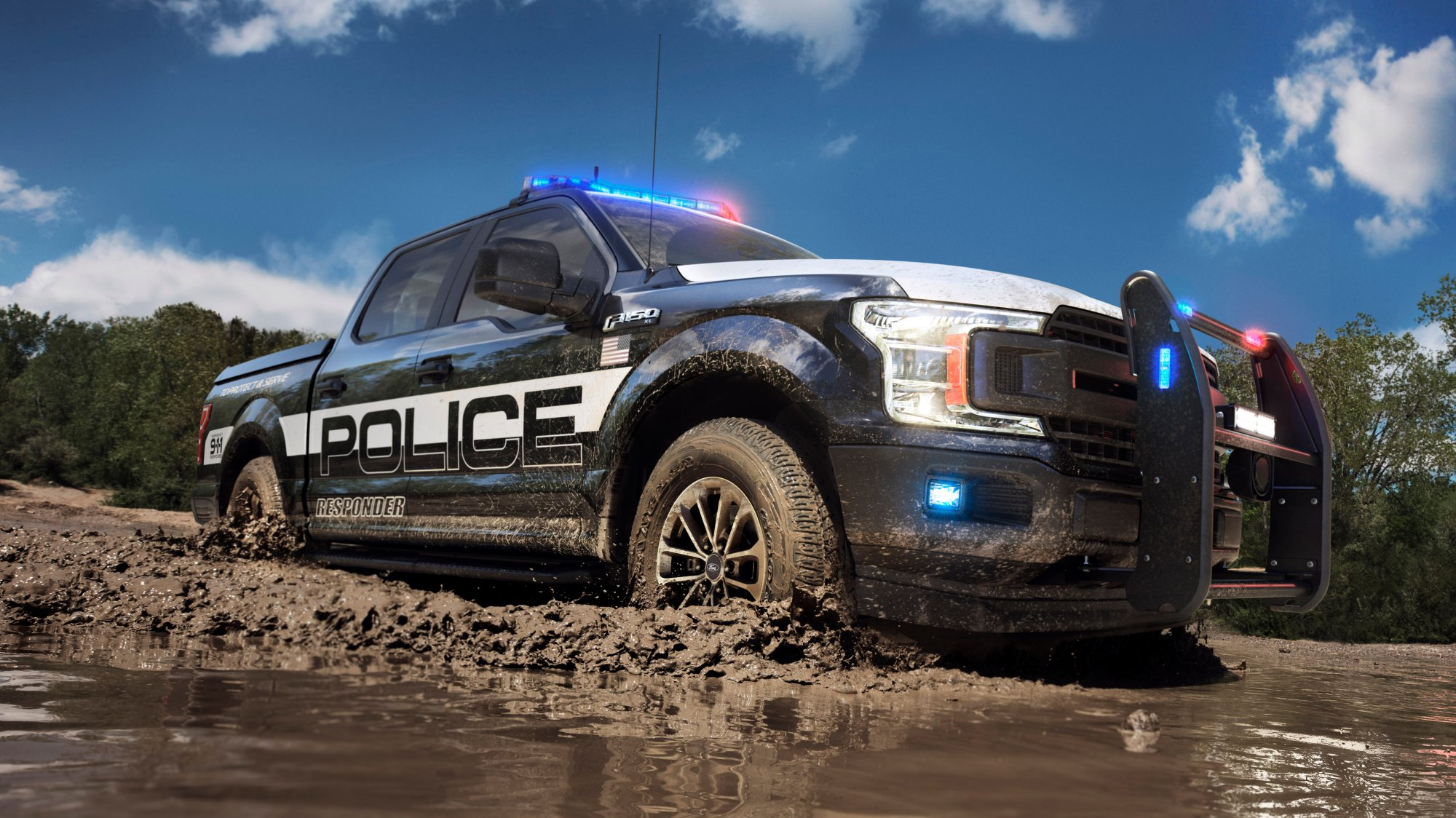 News - 2018 Ford F-150 Police Responder: Who Needs Saloons?