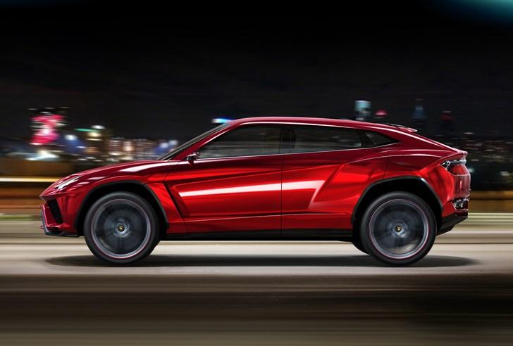 2012 Lamborghini Urus Concept - Beijing Motor Show