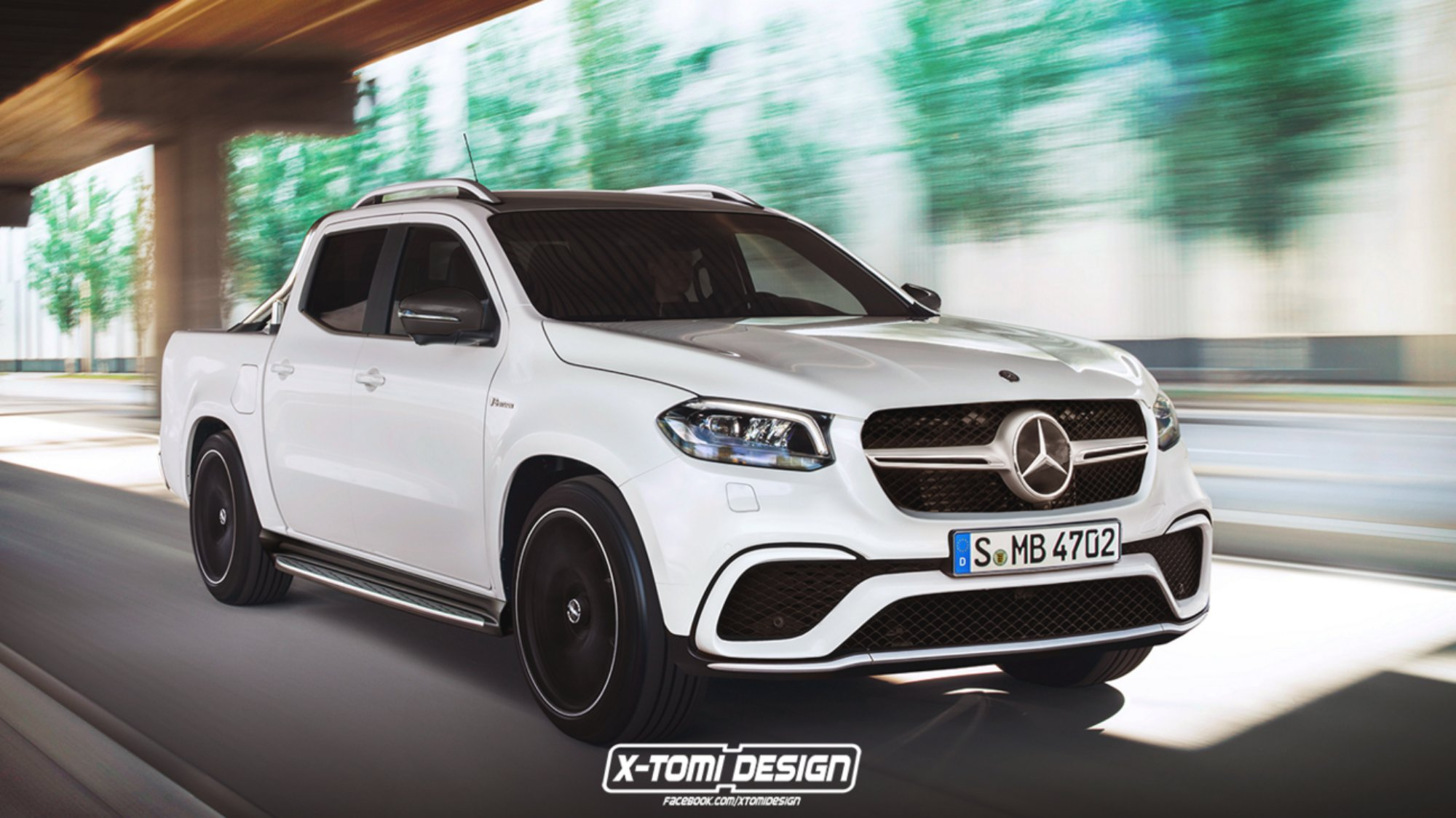 news mercedes benz x class could get amg look not power. Black Bedroom Furniture Sets. Home Design Ideas
