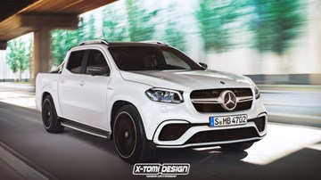 Mercedes-Benz X-Class Could Get AMG Look, Not Power