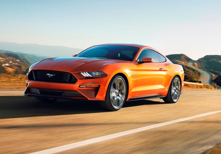 Ford Mustang Gt Will Hit Km H In  Seconds