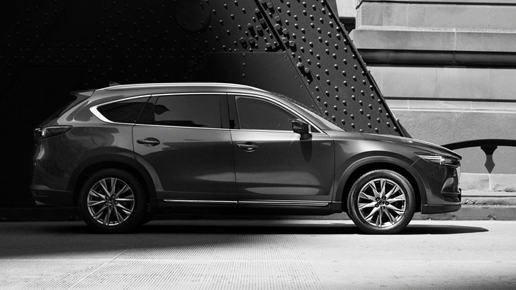 2018 Mazda CX-8 Teased, But We Can't Tell