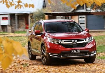 2018 Honda CR-V VTi-LX - Australia