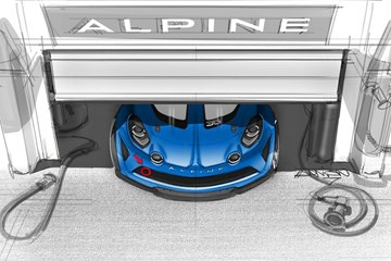 Alpine Teases A110 Cup Racer, Single-Make Race Series