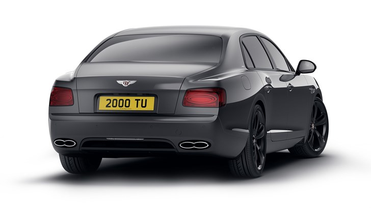 2017 Bentley Flying Spur V8 S Black Edition