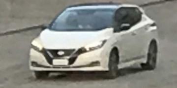 2018 Nissan Leaf Spotted Undisguised