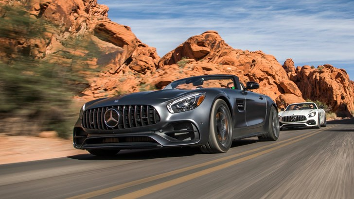 2018 Mercedes-AMG GT Roadster, GT R Coupe Arrive