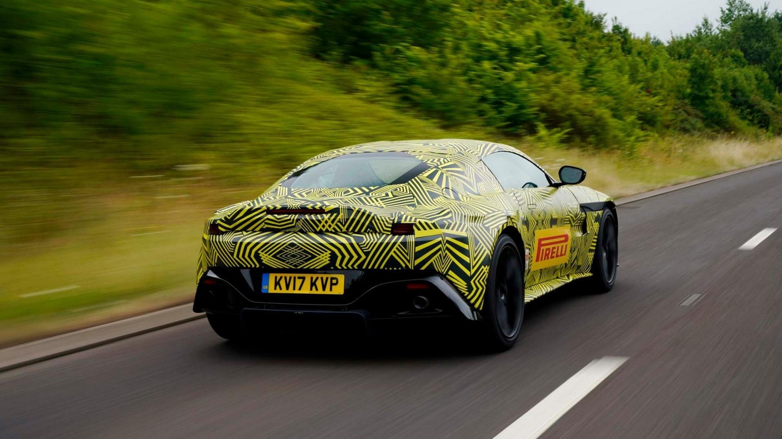 Aston Martin Teases Its All-New Vantage Thumbnail