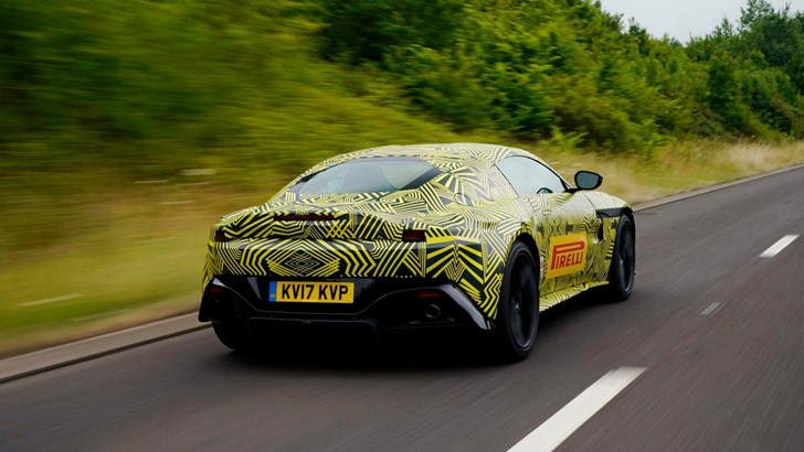 Aston Martin Teases Its All-New Vantage