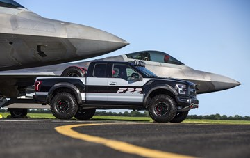 More On That F-22 Raptor-Inspired Ford F-150 One-Off